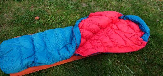 Mountain Equipment Schlafsack sleeping bag, kuschlig warmer Schlafsack mit sehr guter Qualität