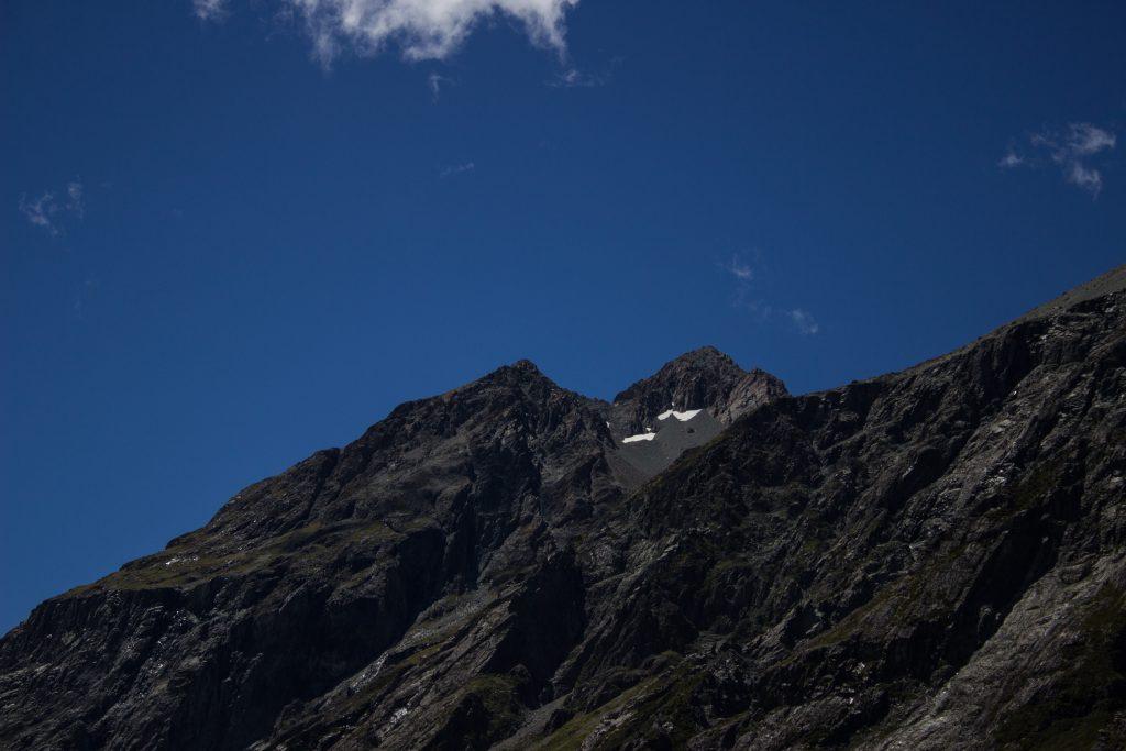 Wanderungen im Mount Cook Nationalpark, Aoraki, Südinsel Neuseeland, Wanderung im Mount Cook Nationalpark, riesige Berge, raue, lebensfeindliche und doch wunderschöne Umgebung