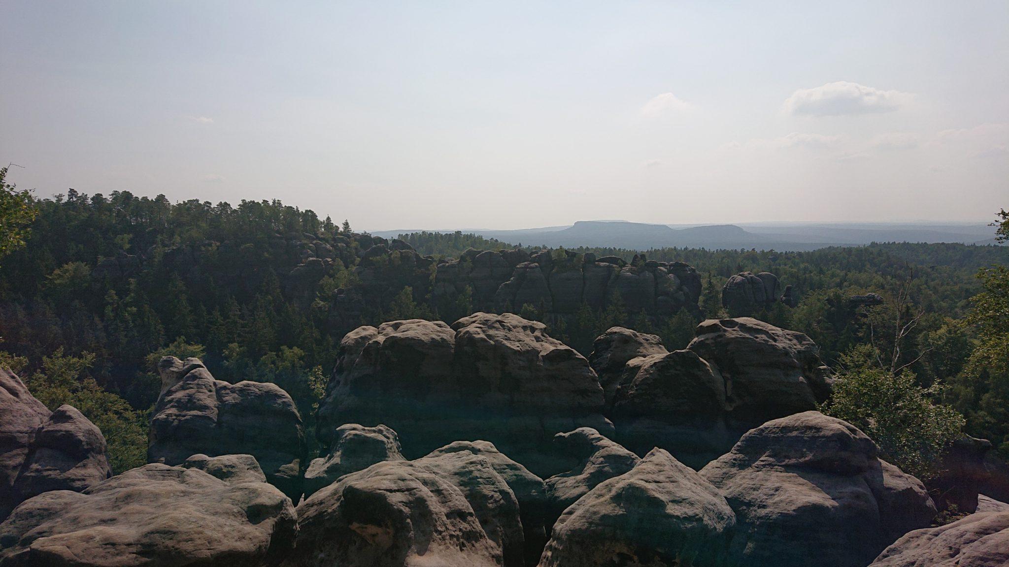 Affensteinweg Frienstein Carolafelsen und Wilde Hölle, Hohe Liebe, Schrammsteine, Wanderweg im Wanderparadies Sächsische Schweiz mit vielen tollen Aussichten, riesiger Felsennationalpark