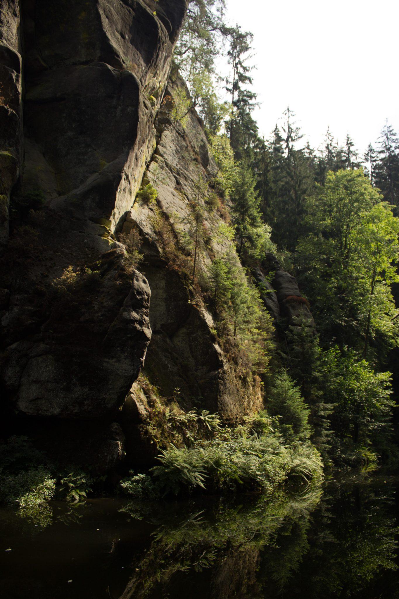 Kirnitzschklamm Hermanseck und Königsplatz im Kirnitzschtal wandern, Wanderweg im Wanderparadies Sächsische Schweiz mit vielen tollen Aussichten, riesiger Felsennationalpark